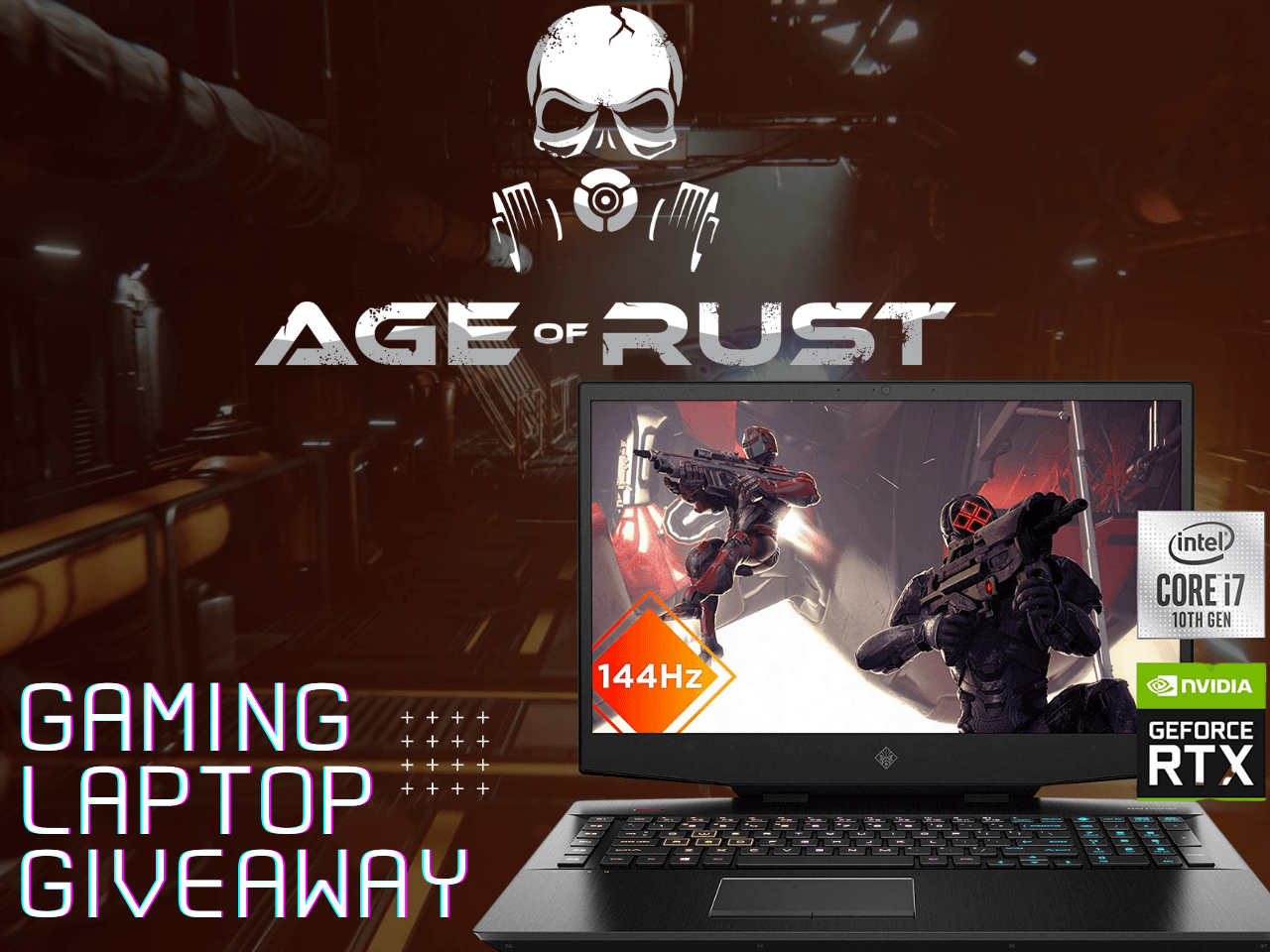 Age of Rust Gaming Laptop Giveaway